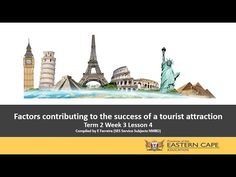 Gr 12 Tourism Attractions Factors Contributing to the Success of a Tourist Attraction Lesson 4 - YouTube Factors, Attraction, Tourism, Success, Education, Youtube, Turismo, Onderwijs, Learning