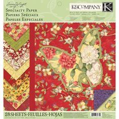 K and Company - Meadow Collection - 12 x 12 Specialty Paper Pad at Scrapbook.com $14.99