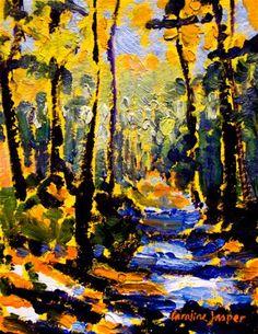 """""""Lemon Light"""" - Original Fine Art for Sale - © by Caroline Jasper"""