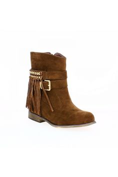 Bottines femme compensées marron - Zaza Pata - Zonedachat.com Wedges, Boots, Fashion, Conkers, Crotch Boots, Moda, Fashion Styles, Shoe Boot, Fasion