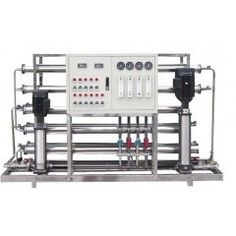 Reverse Osmosis Equipment: the raw water through a fine filter, granular activated carbon filter, active carbon filter, compression, and through the pump pressure, the diameter is 1/10000 μ m (equivalent to the size of the 1/6000 virus in Escherichia coli, the 1/300) reverse osmosis membrane (RO film).  http://www.productsx.net/sell/show.php?itemid=488