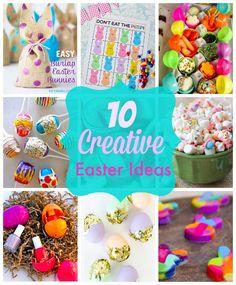 10 Creative Easter Ideas Brunch Decor, Brunch Ideas, Easter Poems, Wedding Brunch Reception, Brunch Invitations, Easter Gift Baskets, Coloring Easter Eggs, Easter Activities, Easter Celebration