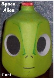 Alien Milk Jug