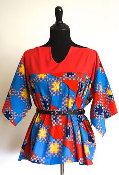 African American Fashion Blazer And Skirt Ankara Styles For Women, Ankara Blouse, African American Fashion, African Tops, Africa Fashion, Blazer Fashion, Dress Skirt, Africa Style, Kitenge