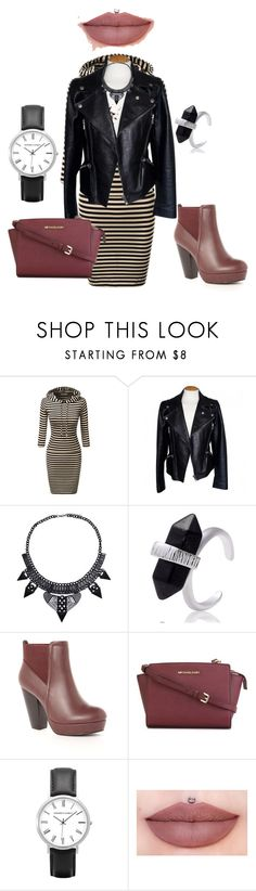 """""""BadGal Plus Size"""" by migalowa on Polyvore featuring Alexander McQueen, Wild Diva, MICHAEL Michael Kors, women's clothing, women's fashion, women, female, woman, misses and juniors"""