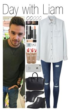 """#Day with Liam"" by didi-horan ❤ liked on Polyvore featuring Miss Selfridge, Acne Studios, UGG Australia, Givenchy, ASOS, Easy Spirit, Napoleon Perdis, MAC Cosmetics, Christian Dior and Topshop"