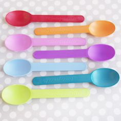 Biodegradable Plastic Spoons for an eco-friendly wedding reception Rainbow Birthday Party, Baby Birthday, Birthday Bash, Birthday Ideas, Biodegradable Plastic, Biodegradable Products, An Affair To Remember, Plastic Spoons, Farm Party