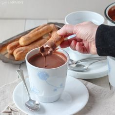 Thick, Intensely Rich European Style Hot Chocolate: Only a few ingredients & mere seconds stand between you & the most luxurious treat!