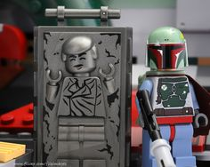 Han Solo in Carbonite /by DigiNik13 #flickr #LEGO #StarWars