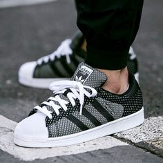 "JUST LIFE STYLE™®: Sneakers To Buy And To Wear Right Now : "" Adidas Superstar Weave"" ."