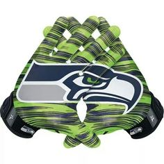Nike Seattle Seahawks NFL Vapor Jet Authentic Gloves is available now at FansEdge. Seahawks Gear, Seahawks Fans, Seahawks Football, Football And Basketball, Nfl Seattle, Seattle Seahawks, Seahawks Merchandise, Nike Gloves, Football Gloves