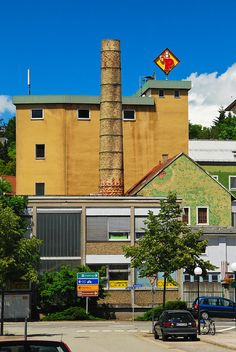 Parkbrau brauerei  ( brewery closed 1989 )Zweibruecken- Zweibrucken brewery location in 1989 . Main brewery  is located in Primasens