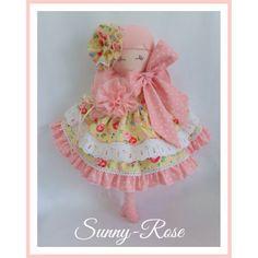 $130 Handmade Doll...SunnyRose by TrellisDesign on Handmade Australia