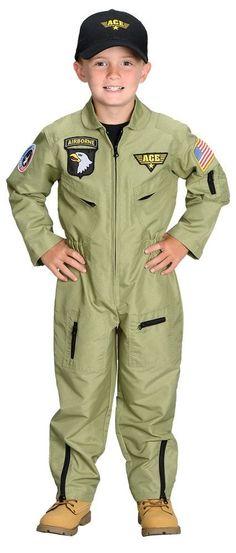 Fighter Pilot Child Medium 6-8