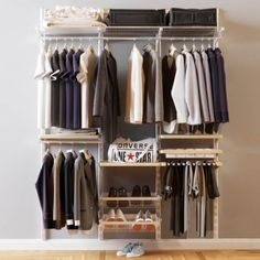 Cloth Men Elfa Wardrobe Model, this piece of art Textured model ready for animate, accurately design for perfect for visualization Bedroom Wardrobe, Wardrobe Rack, Elfa Closet, Modern Closet, 3d Panels, Newborn Baby Photos, Master Closet, Modern Spaces, Classic Furniture