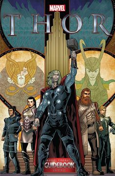 Guidebook to the Marvel Cinematic Universe – Marvel's Thor (2016) // The MCU Guidebooks bring the thunder as the mighty Thor steps into the spotlight! Our comprehensive coverage of the fan-favorite Marvel Studios films and Marvel TV series continues as we reveal everything you need to know about the golden realm of Asgard! #thor #marvel #guidebook #comics