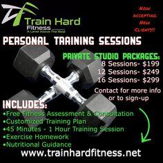 Private Studio Session Humble, TX www.trainhardfitness.net