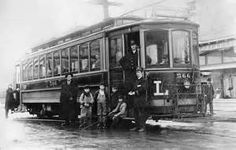 Portland Streetcar - 1910