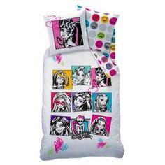 Parure de couette Monster High, sur www.shopwiki.fr ! #drap #couette #monsterhigh #enfant