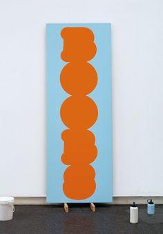 Christian Robert-Tissot :: 2007, st, acrylique sur toile, 220 x 80cm
