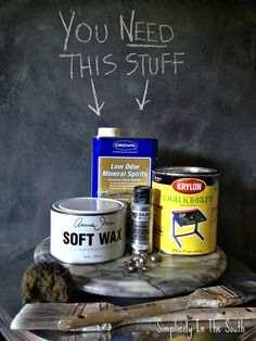 Locker painting tutorial! THANK YOU! Supplies for a faux aged steel paint finish