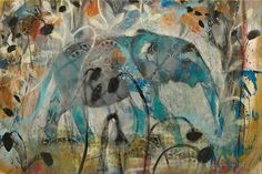"""Masala Elephant"" by Judy Paul | Prints available at www.judypaul.com"