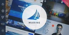 Download and review of Marine Responsive WordPress Theme Multi-Purpose, one of the best Themeforest Corporative themes