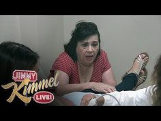 ▶ Jimmy Kimmel and Cousin Sal Prank Aunt Chippy - Fake Sonogram - YouTube