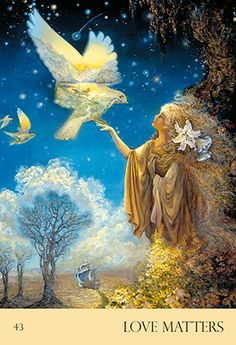 Blue Angel Publishing - Nature's Whispers Oracle Cards - Angela Hartfield - Illustrated by Josephine Wall