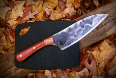 7 Handmade Kitchen Utility Knife  from by HeartwoodForgeKnives