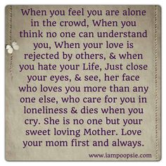 Quotes on Pinterest Family quotes, Sword Of Truth and Miss My Mom