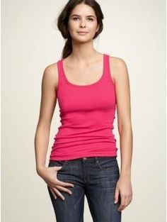 The Comfiest Tank | The 26 Comfiest Items Of Clothing Of All Time, According To Pinterest. The Gap