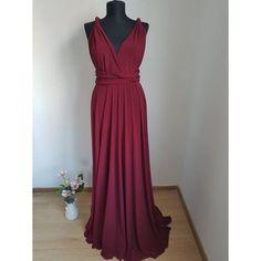burgundy infinity dress Infinity Dress, Burgundy, Formal Dresses, Fashion, Dresses For Formal, Moda, Formal Gowns, Fashion Styles, Formal Dress