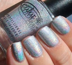 Color Club - Worth the Risque - swatched on nail wheel - $5.00 - SOLD