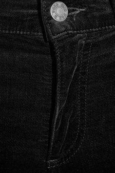 rag & bone - Cropped Velvet Mid-rise Flared Jeans - Black - 25