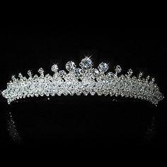 hermosa novia de aleación de tiara de la boda / cabezal - EUR € 45.45
