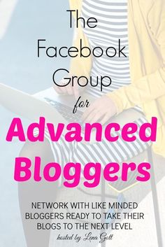 If you are looking for a place to network with advanced bloggers, this is the place for you! Ask questions, get answers, share your knowledge. SHARING YOUR CONTENT / ADVICE is encouraged, as long as it helps others, it's allowed! Come join us :)