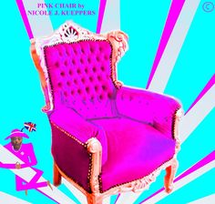 #PINK CHAIR - #DAILY BY DESIGN PAVONI : #SKLAVEN