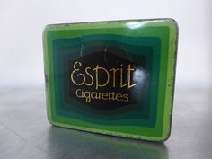 (Henry Collection) WW1 10er Zigarettendose ESPRIT Deutscher Werkbund Dresden Art Nouveau cigarette tin 1910