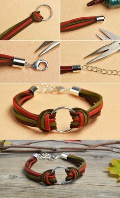 Like the suede cord bracelet The tutorial will be published by LC.Pandahall. eda3634f7ef1e