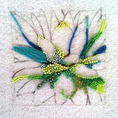 Eleanor Pigman: In Progress....Seed Bead Agave