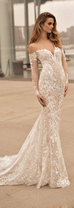 Best Wedding Dresses of 2017 - Berta Wedding Dress Collection Spring 2018 #bestof2017 #weddingdress #bridalgown #weddingdresses #weddings #bride