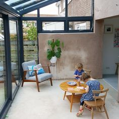 home extensions Our extension plays such an important role in our home life, it has brought us a sense of freedom, space to exist alongside each other, but also room to breathe, to pla House Extension Design, Extension Designs, Glass Extension, House Design, Extension Ideas, Rear Extension, Garden Design, Lean To Conservatory, Conservatory Extension