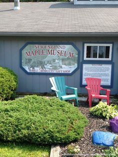New England Maple Museum in Vermont. Tour, tasting room, movie and gift shop. Travel Vermont.