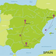 When to go to Spain | Travel itineraries Spain in 10 days | Way Away