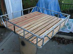 No Weld Truck Roof Rack - Blazer Ideen - Haus ideen Van Roof Racks, Truck Roof Rack, Truck Bed, Roof Rack Tent, Diy Pergola, Pergola Kits, Pergola Plans, Pergola Ideas, Cheap Pergola