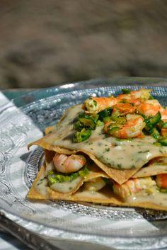 Lasagnette integrali alle zucchine e mazzancolle
