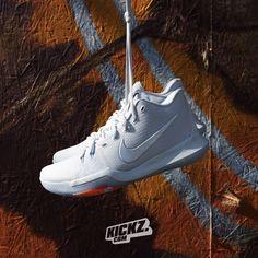 d1c19f342ff7 Nike Kyrie 3 TS. What a beauty and clean af. Get it at KICKZ.COM.  Nike   Kyrie3  KyrieIrving  kickzcom
