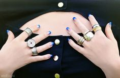 Coins and cutlery rings by REdesign 21, Wisible Photography