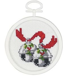 Janlynn Silver Bells Mini Cntd X-Stitch Kit-3